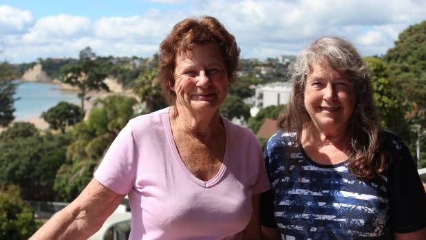 From left, Leonie Couper and Sue Courtney wrote a book to celebrate the 40th jubilee of an Auckland-based writing group.