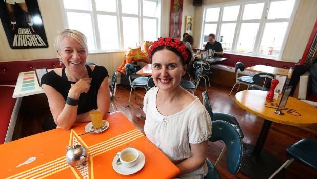 Bronwyn Kelly and Katie Richardson are co-owners of the Maranui Cafe.