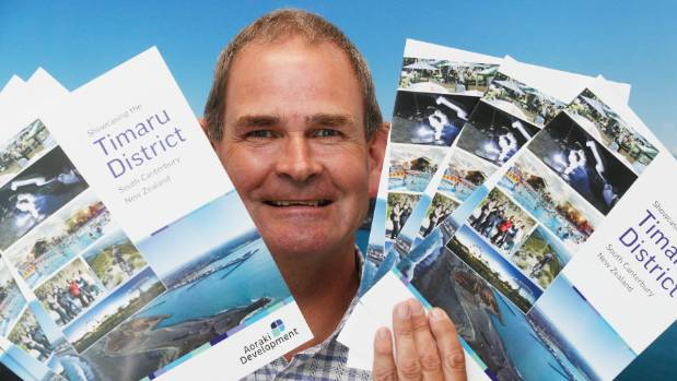 Aoraki Development chief executive Nigel Davenport says a new video pitching Timaru as the place to live, work and study ...
