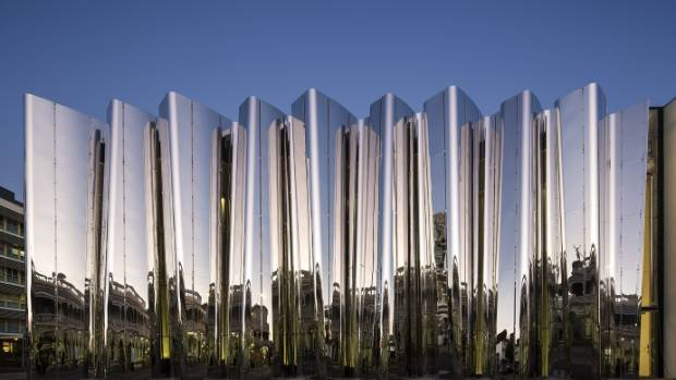 Visitor numbers at the Govett-Brewster Art Gallery/Len Lye Centre remain steady.