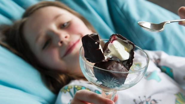 Choc-dipped ice cream blocks are a little fiddly to make but will bring a smile to any kid's face.
