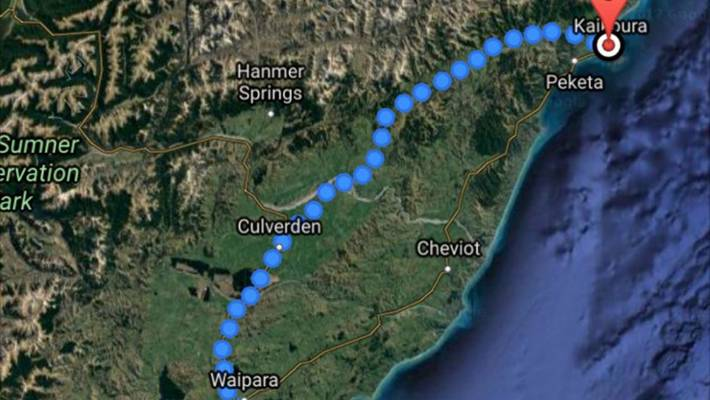 Kaikoura open for visitors despite routes being deleted by Google ...