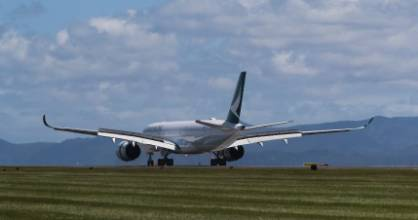 Cathay Pacific's new Airbus A350 will fly direct between Hong Kong and Christchurch in December 2017.