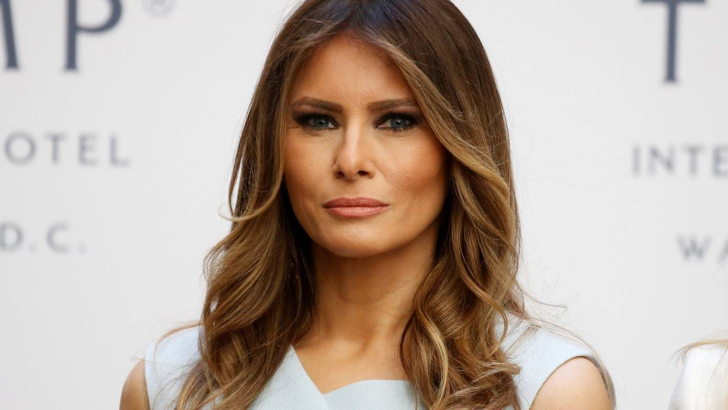Melania Trump is eating a bowl of jewellery on the cover ...