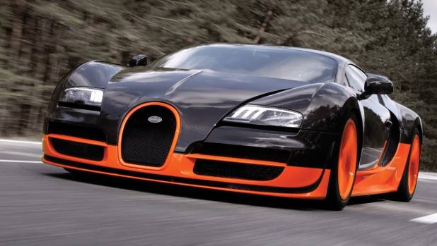 The Bugatti Veyronu0027s Body Is Made Of Carbon Fibre. It Costs A Lot Extra To