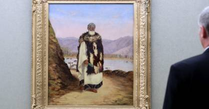 Wellington City Council has moved its most expensive piece, Charles Barraud's portrait of Te Puni, to the council's ...