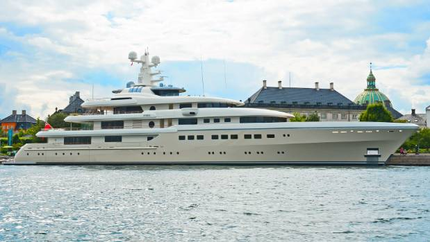The super wealthy love to own superyachts.