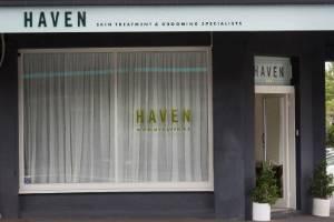 Haven's Mount Eden beauty salon.