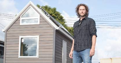 Bryce Langston's Youtube sensation 'Big Living in a Tiny House' has inspired his own personal project which allows him ...