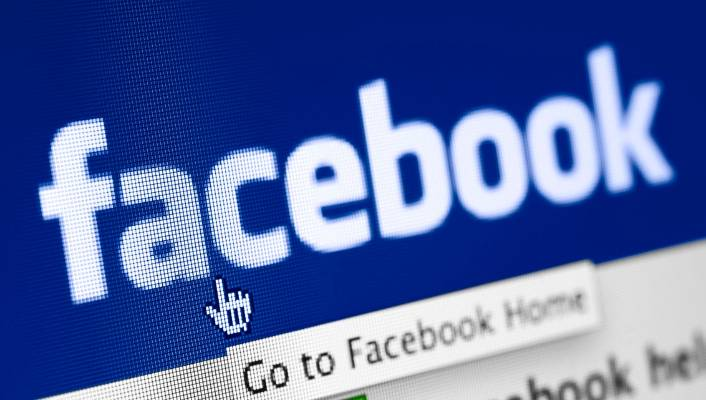 Facebook login home page full site p