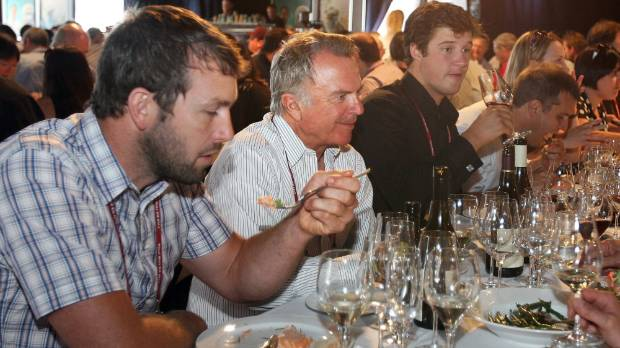 Kiwi actor Sam Neill was just one famous face at the last pinot noir event in 2013.