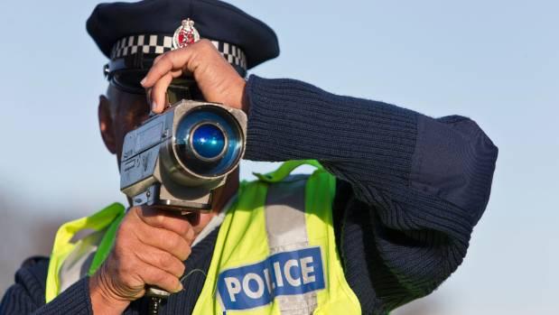 A Taranaki man was clocked on a police radar speeding along State Highway 45 as he passed three cars.