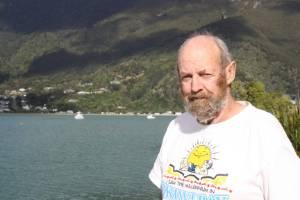 Okiwi Bay resident Rodney Boulton.