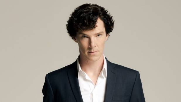 Benedict Cumberbatch plays the famous fictional detective in Sherlock.