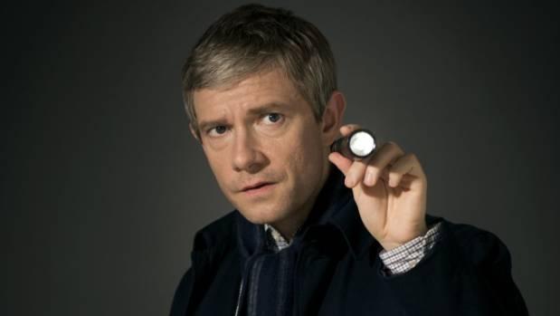 Martin Freeman plays John Watson in Sherlock.