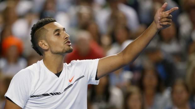 Kyrgios hits back at Federer