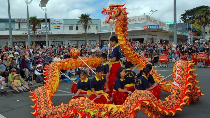 Lovely Northcote Town Centreu0027s Festival To Celebrate Chinese And Korean New Year.