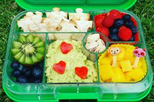 The Lunchbox Queen, Lynley Edwards shares fresh ideas for cool school lunches.