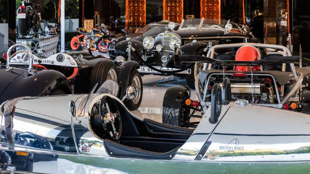 The house comes with its own $42m classic car collection.