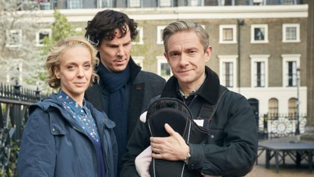 Sherlock: Leading lady Amanda Abbington keen for spin-off show
