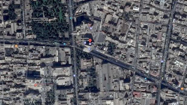 The Plasco building in Tehran has collapsed after a fire broke out.