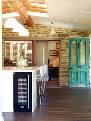 Front doors that really make an entrance - Front door opens to kitchen ...