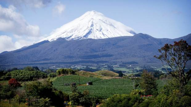Changing the mountain's name to Taranaki created a furore at the time.