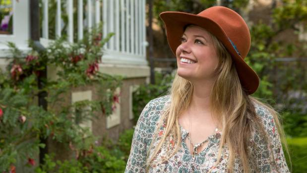 Liz Carlson at Olveston in Dunedin.