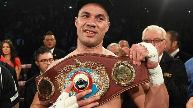 Joseph Parker's WBO belt is a motivating factor for Eddie Hearn to give him a fight against Anthony Joshua.