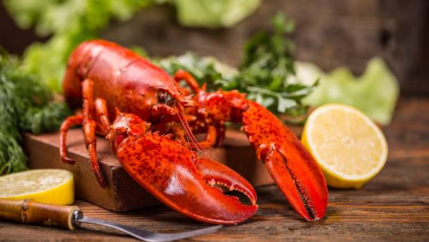 Lobster tends to be part of the first course for these US president lunches.