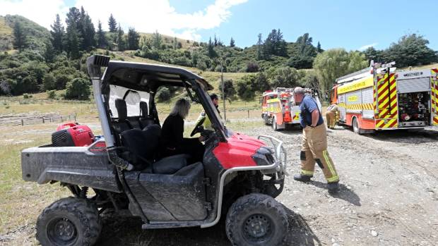 Emergency services needed an ATV to reach the scene of the crash.