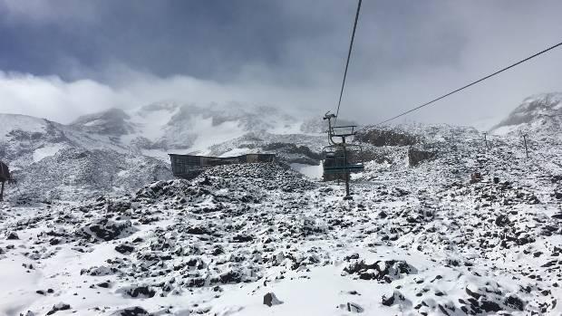 Whakapapa skifield.