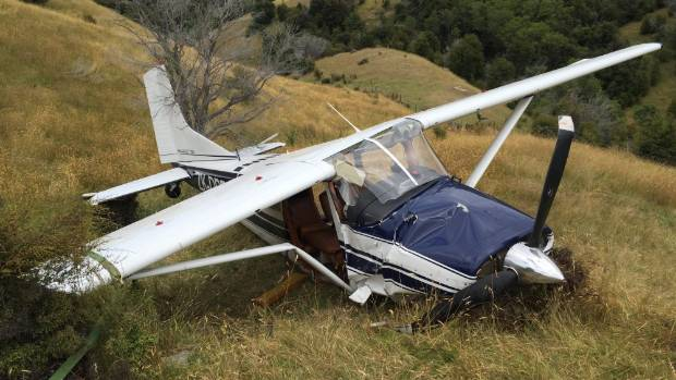A light plane crash on a remote Kekerengu airstrip today resulted in four patients being flown to Christchurch hospital ...