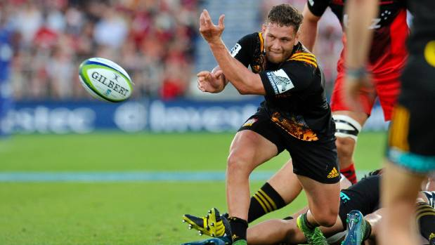 Chiefs halfback Tawera Kerr-Barlow is heading off at season's end to Join La Rochelle in France.