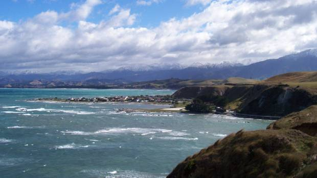 The rebuild of State Highway 1, north of Kaikoura, is estimated to take up to a year.