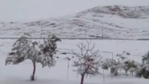 Snow has not fallen in Ain Sefra since February 18, 1979.