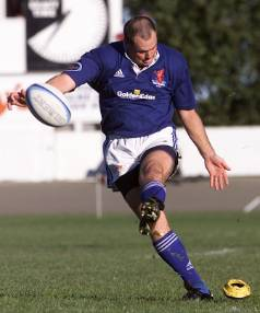 Warren Johnston, shown here in more familiar pose, will coach this year's Nelson College First XV rugby team.