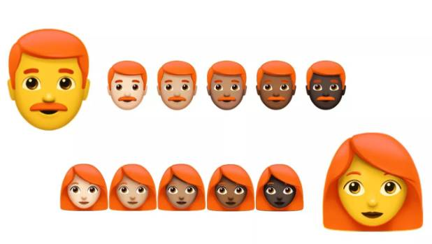 Red-haired emoji may be coming soon