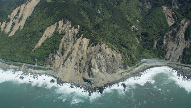Parts of the Kaikoura coastline were altered beyond recognition following November's huge quake.