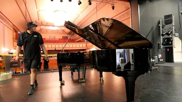 Precision key in Steinway piano move to Theatre Royal
