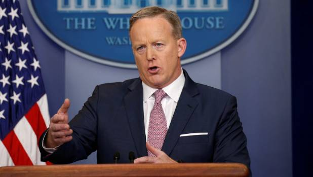 Sean Spicer told media that he would never lie to them.