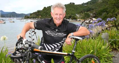Dr John Forrest says the earthquake has created a unique opportunity to build a cycleway from Picton to Christchurch, ...