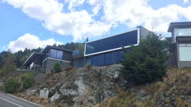 A Queenstown property owned by a company of which Peter Thiel is a director.