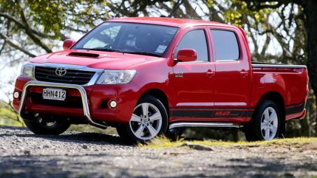 But used Toyota Hilux utes are among the most expensive.