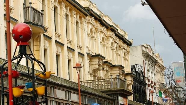 Wellington's Cuba Mall contains several historic buildings likely to meet the criteria announced on Wednesday. No ...