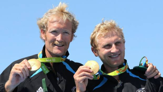 The pair have won two Olympic gold medals.