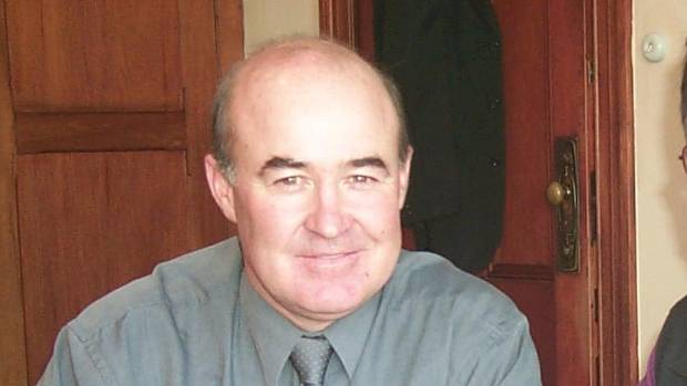 Gerard Gallagher in 2009 when he worked as Enterprise Ashburton general manager.
