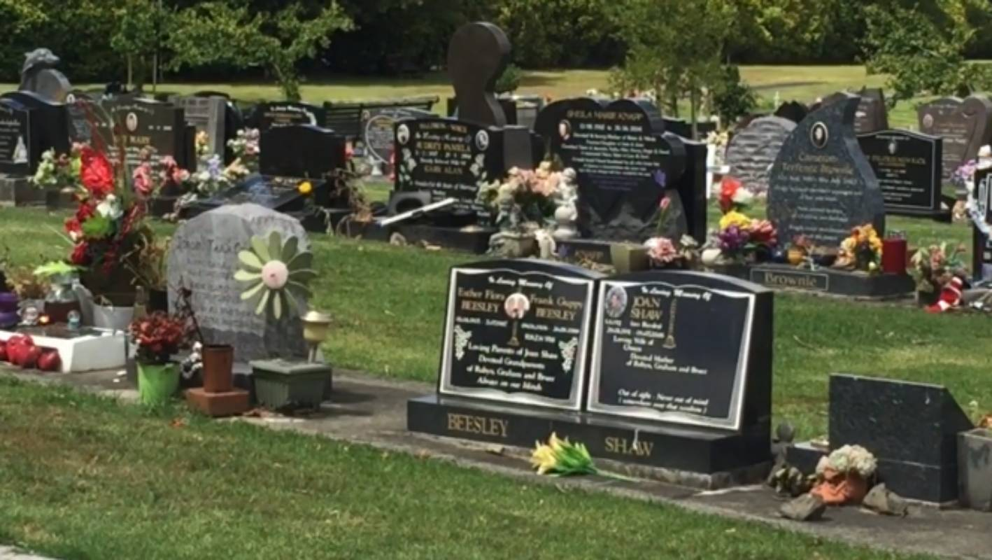 Thieves steal from children's graves in Papakura