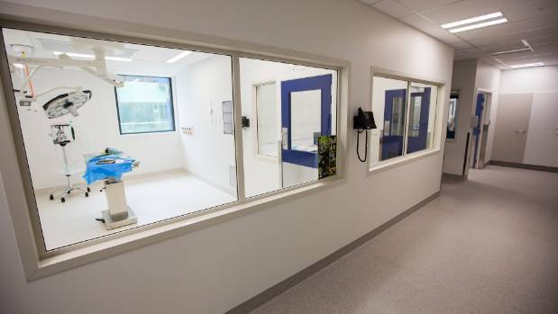 One of the surgical rooms at Wildbase.