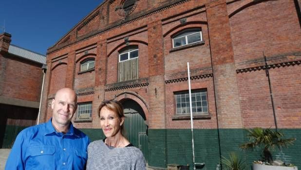 Tim Bean and Anna Laing are looking to transform the former Grainstore at Timaru's port into a world-class health club ...